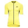 X-Bionic The Trick Biking Koszulka kolarska Mężczyźni żółty
